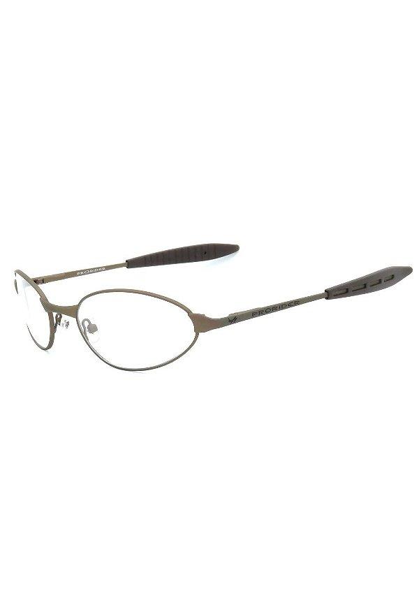 Óculos de Grau Prorider Retro Marrom Fosco - PARON