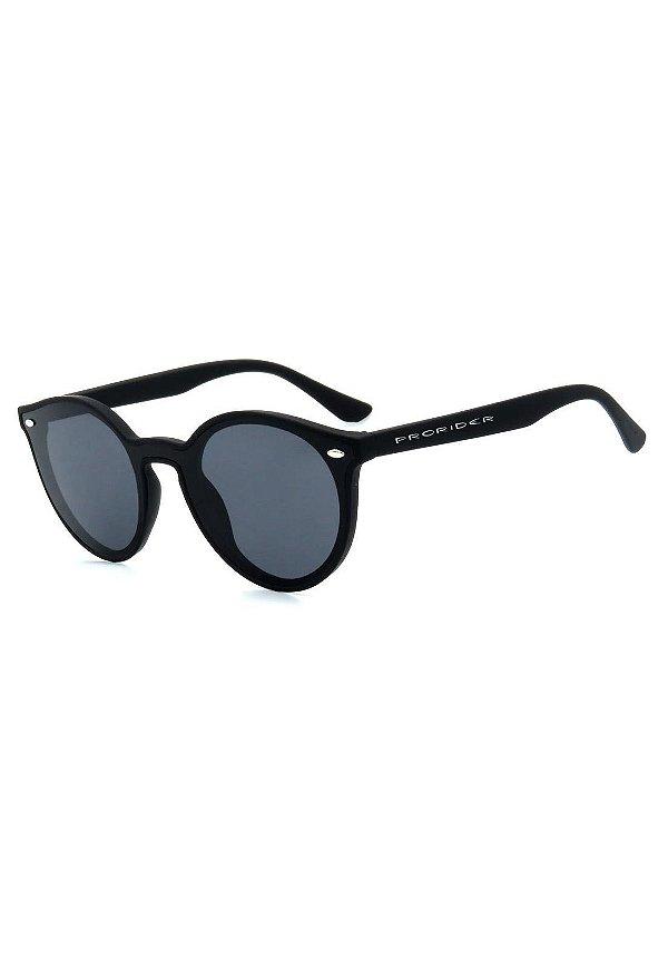Óculos de Sol Prorider Preto Fosco com Lente Fumê - GP230-1
