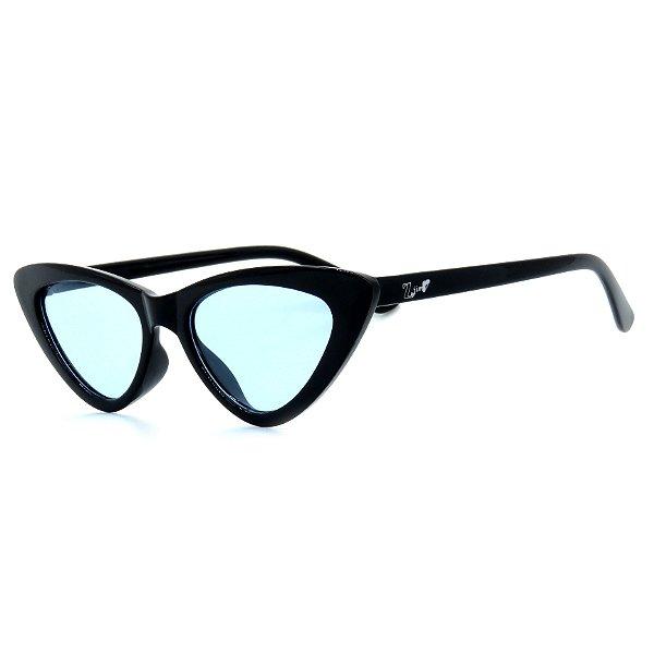 Óculos de Sol Infantil Z-JIM em Grilamid® TR-90 Gatinho Preto