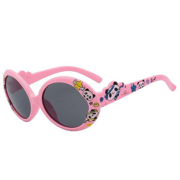 Óculos de Sol Infantil Z-JIM Rosa Claro Estampado