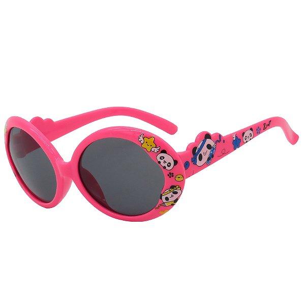 Óculos de Sol Infantil ZJim Rosa Chiclete