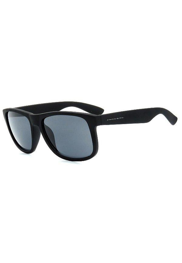 Óculos de Sol Prorider Preto Brilhante com Lente Fumê - 4165-9