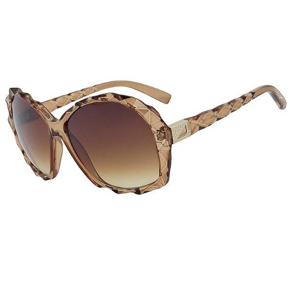 Óculos de Sol BellClover em Grilamid® TR-90 Clássico Marrom Translucido Lente Degradê
