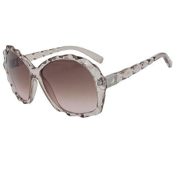 Óculos de Sol BellClover em Grilamid® TR-90 Clássico Marrom Claro Translucido Lente Degradê