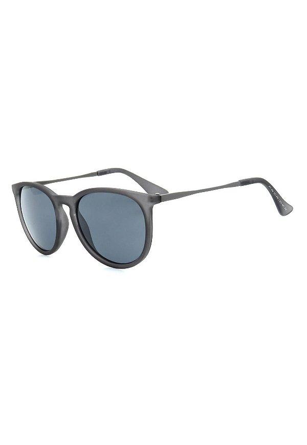 Óculos de Sol Prorider Cinza Translúcido e Grafite com Lente Fumê - RB171AP