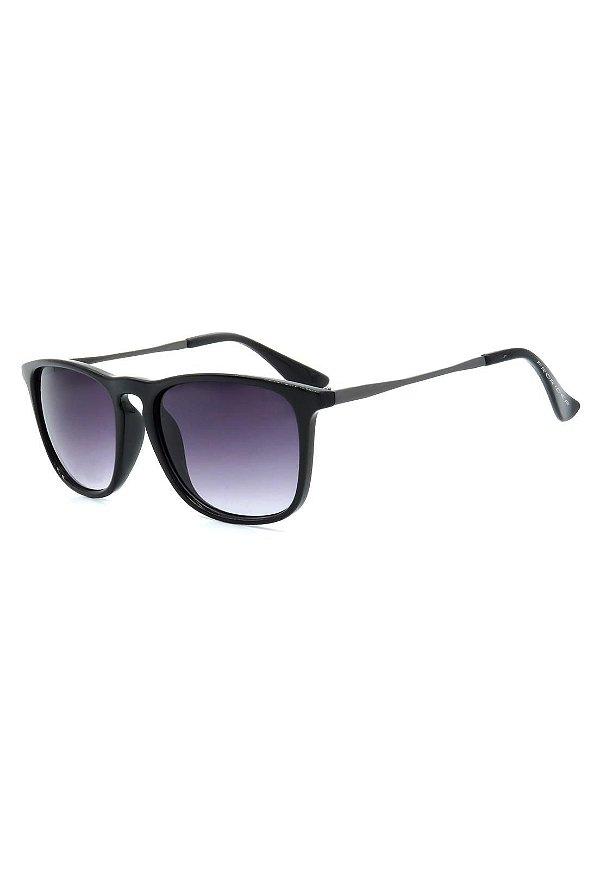 Óculos de Sol Prorider Preto e Grafite com Lente Degrade - RB4187AP-1