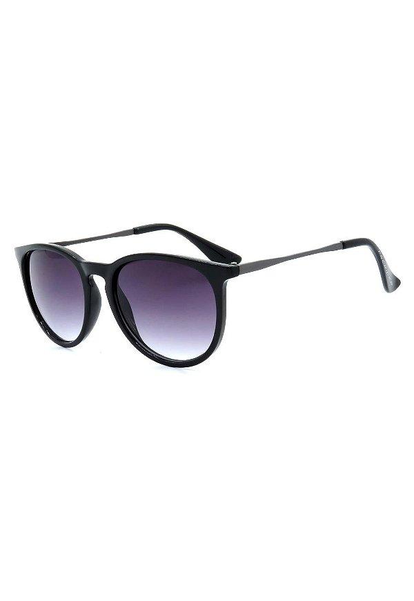 Óculos de Sol Prorider Preto e Grafite com Lente Degrade - RB171AP-1