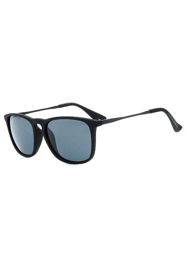 Óculos de Sol Prorider Preto Fosco com Lente Fumê - RB4187AP-2