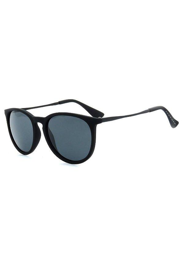 Óculos de Sol Prorider Preto Fosco com Lente Fumê - RB171AP-2