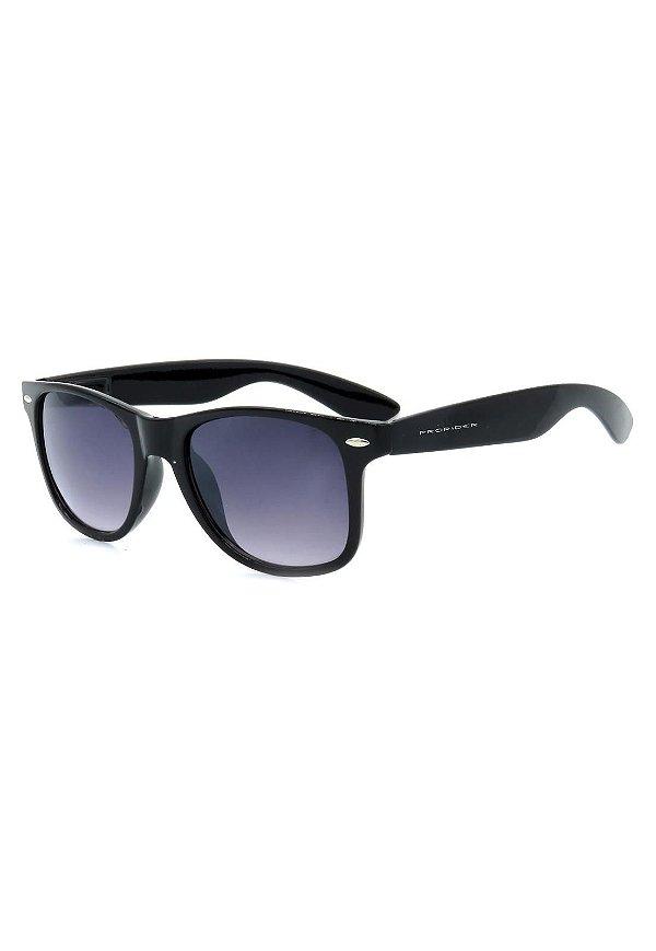 Óculos de Sol Prorider Preto com Lente Degrade - W1-65