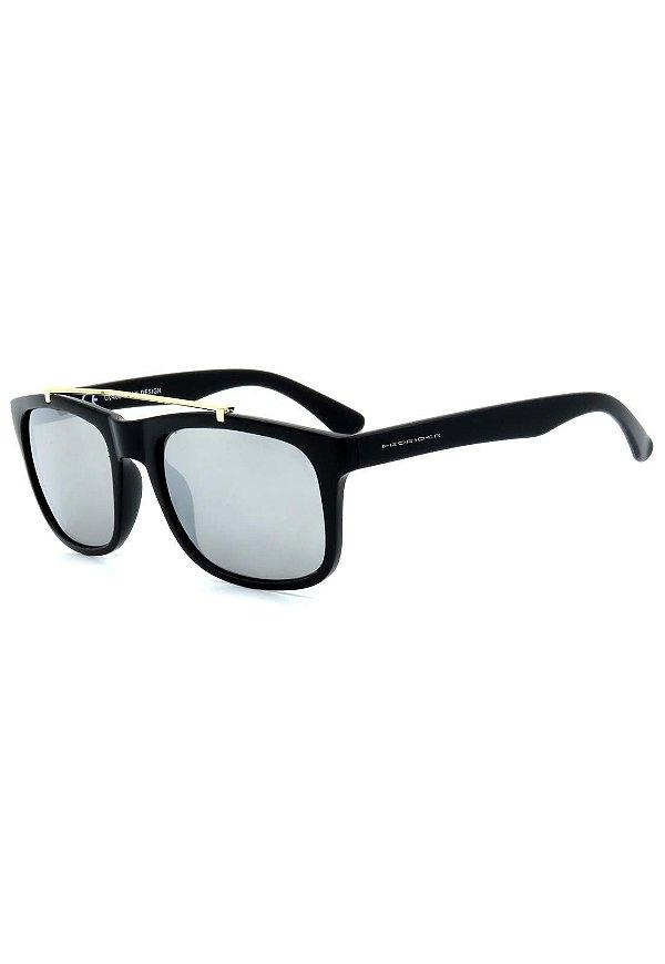 Óculos de Sol Prorider Preto Fosco com Lente Espelhada - YD1674C4