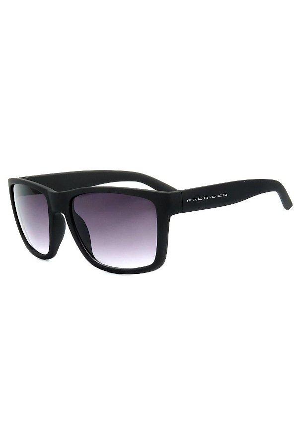 Óculos de Sol Prorider Preto Fosco com Lente Degrade - ZM2421-3