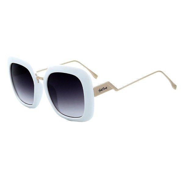 Óculos de Sol BellClover em Grilamid® TR-90 Branco e Dourado