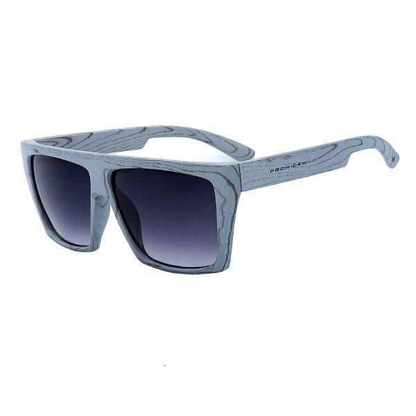 Óculos de Sol Prorider Cinza Azulado Fosco com Lente Degrade - W1-65-2