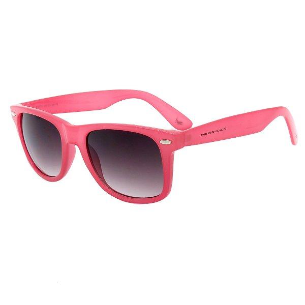 Óculos de Sol Prorider Rosa Brilhante com Lente Degrade - 17191