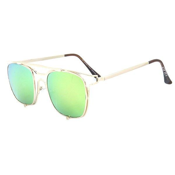 Óculos de Sol Mulher Otto Quadrado Espelhado