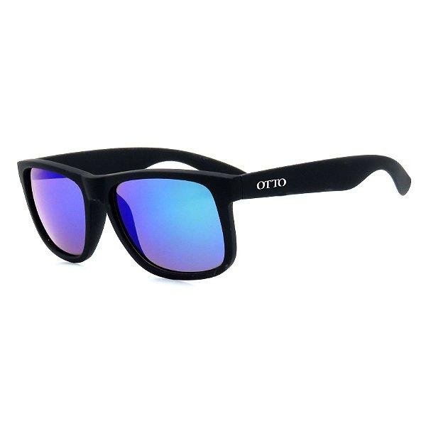 Óculos de Sol Homem Otto Retangular Espelhado