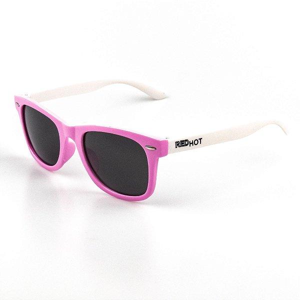 Óculos de Sol Infantil Red Hot Quadrado Menina
