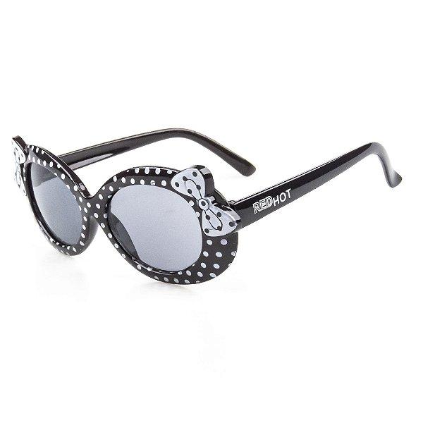 Óculos de Sol Infantil Red Hot Bolinhas Menina