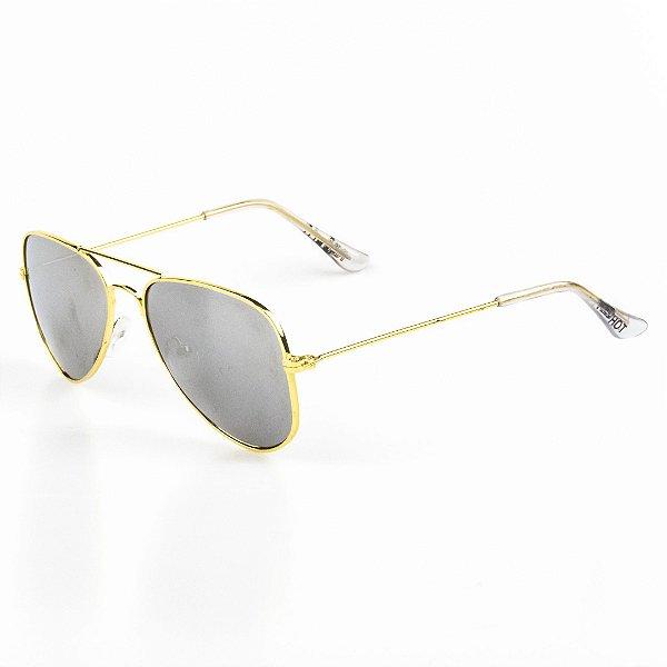Óculos de Sol Infantil Red Hot Aviador Menina