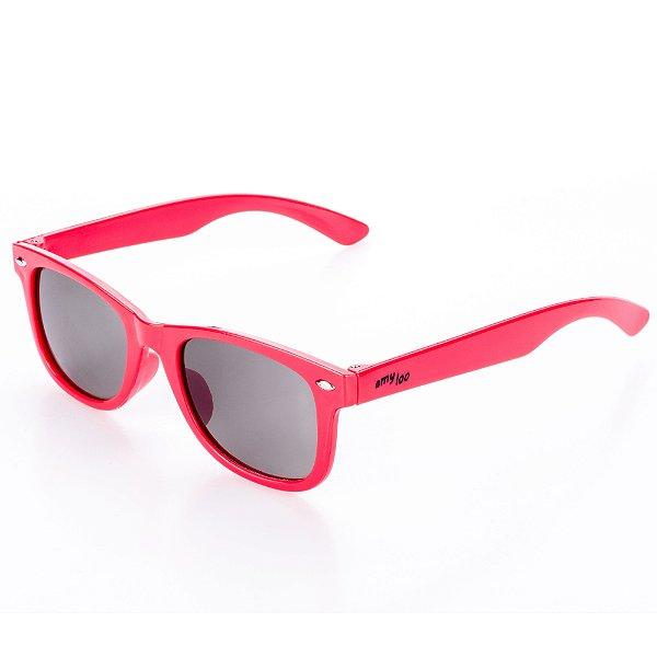 Óculos de Sol Amy Loo Quadrado Vermelho