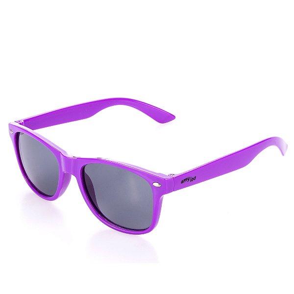 Óculos de Sol Amy Loo Quadrado Roxo