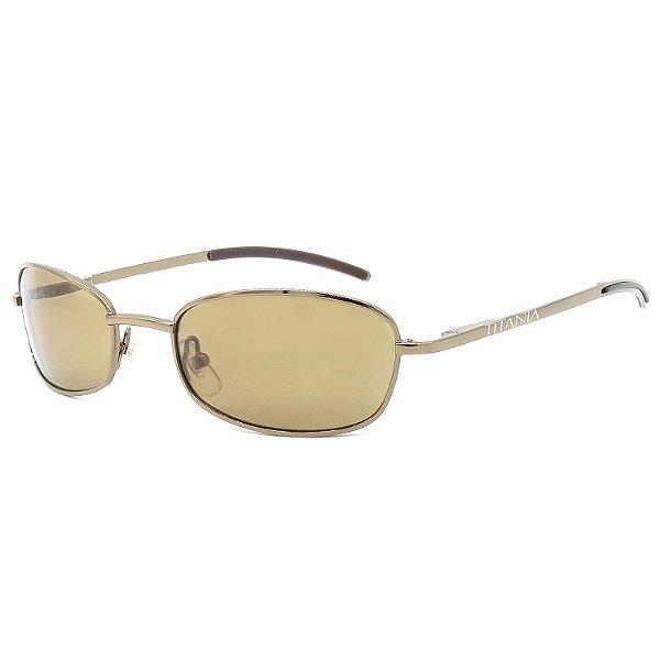 Óculos de Sol Titânia Retrô Bronze