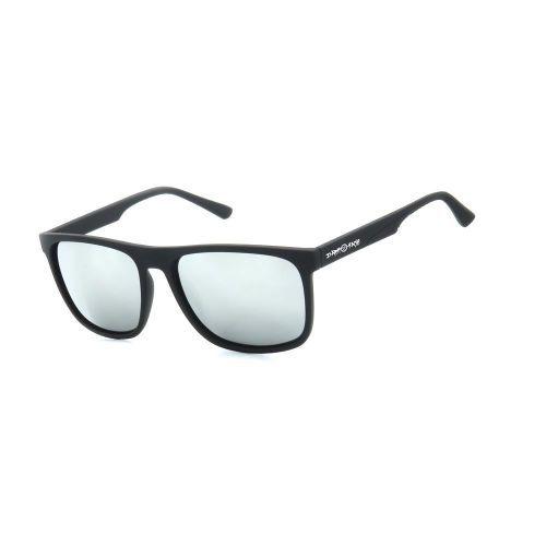 Óculos de Sol Dark Face Preto Fosco com Lente Espelhada - ZXD21C1