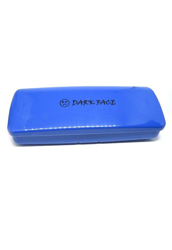 Case para óculos Dark Face Azul - EAZDF