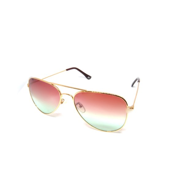 Óculos De Sol Prorider Aviador Dourado com Lente Degrade- 26