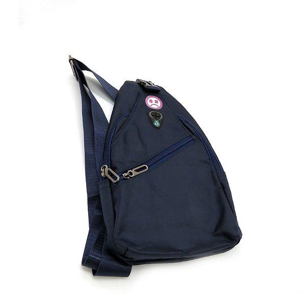 Shoulder Bag Dark Face Azul- DKFAZM