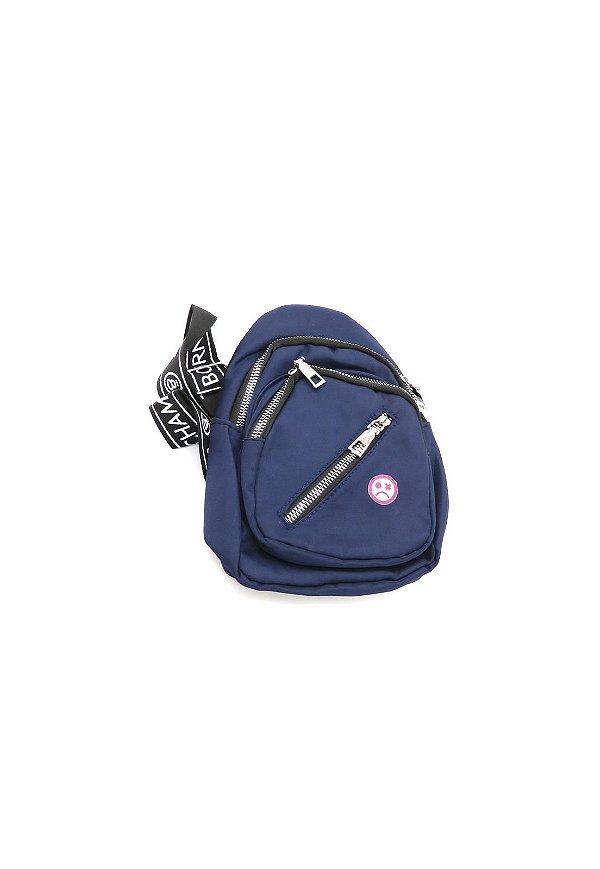 Shoulder Bag Dark Face Azul- DKFAZ1