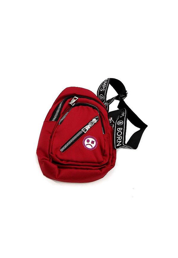 Shoulder Bag Dark Face Vermelho- DKFVM