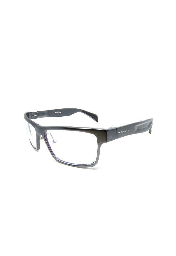 Óculos Receituário Prorider Retro prata - L122G C3