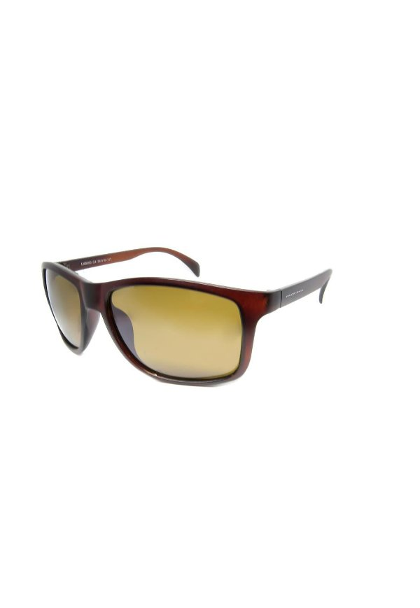 Óculos de Sol Prorider Retro Marrom com lente Polarizada Marrom - LM9360 C4