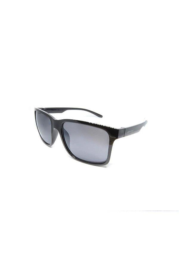 Óculos de Sol Prorider Retro Preto com lente Polarizada Fumê - HS0366 C1
