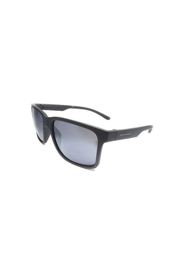 Óculos de Sol Prorider Retro Preto com lente Polarizada Fumê - HS0366 C3