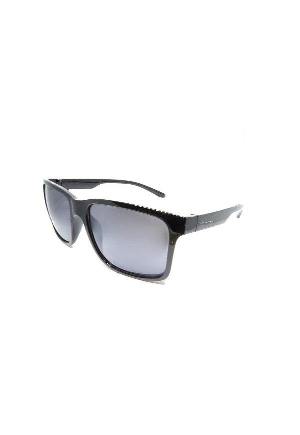 Óculos de Sol Prorider Retro Preto com lente Polarizada Fumê - HS366 C1