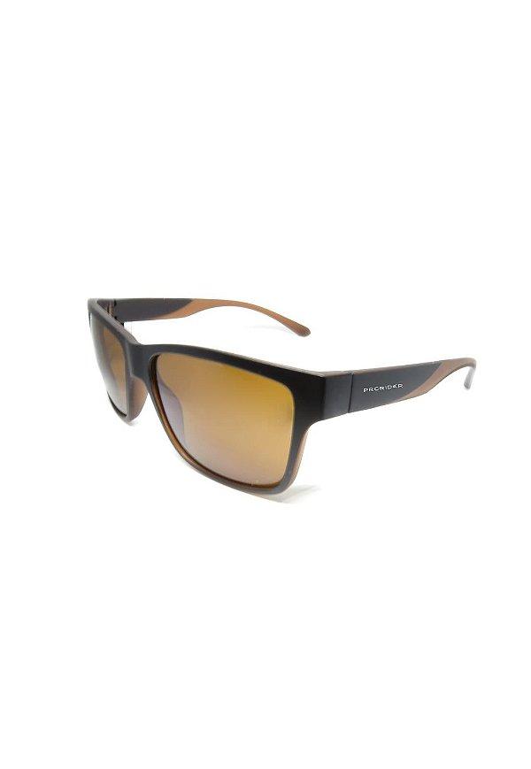 Óculos de Sol Prorider Retro Marrom com lente Polarizada Marrom - HS0369 C3