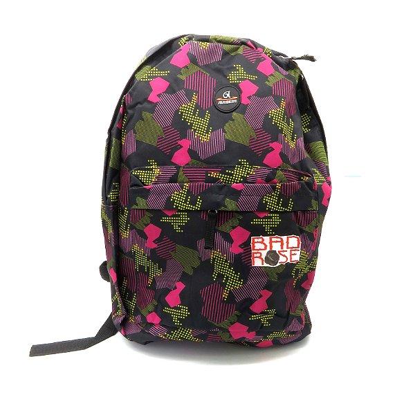 Mochila Bad Rose Estampada colorida - BRMB0144