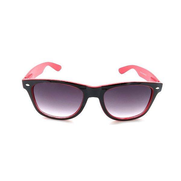Óculos de Sol Prorider Preto e Vermelho Fosco  - Y21-B