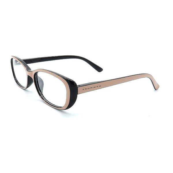 Óculos de Grau Prorider Preto com Rosê - GG5101