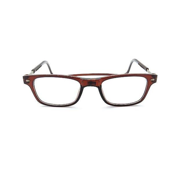 Óculos de Grau Prorider Marrom Translucido com Apoio - 14-3