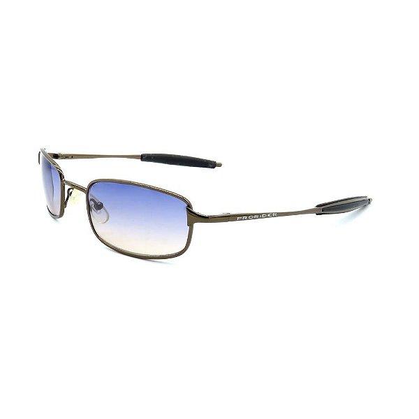 Óculos de Sol Prorider Retro Bronze com Lente Azul - AC3894