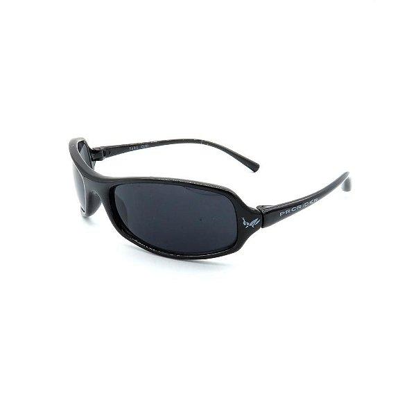 Óculos de Sol Retro Prorider Preto com Lente Fumê - 627TUBE