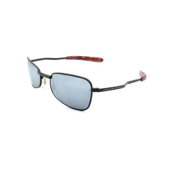 Óculos de Sol Retro Prorider Preto com Lente Fumê - ANITOR1