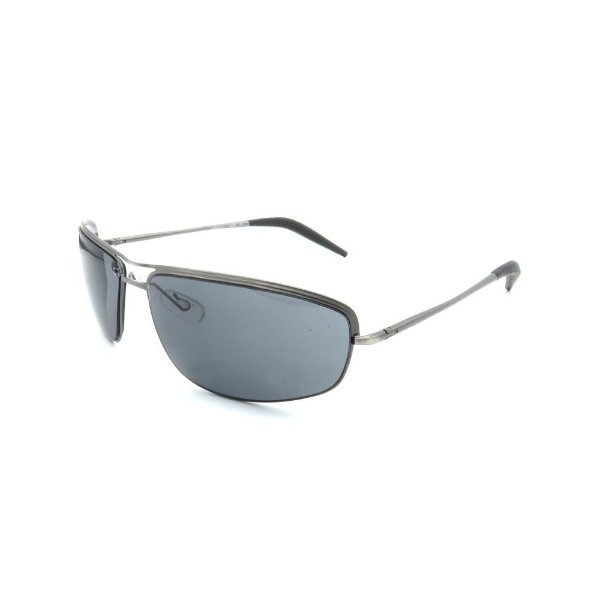 Óculos de Sol Retro Prorider Prata com Lente Fumê - ASM041