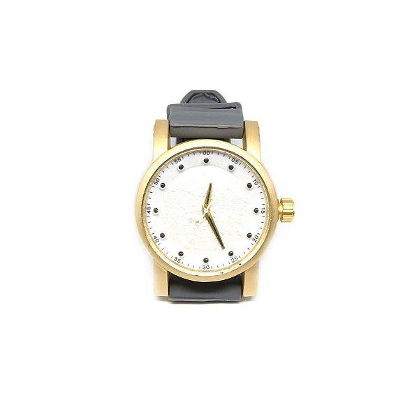 Relógio Dark face Preto, dourado e Branco - RLPD2020-1