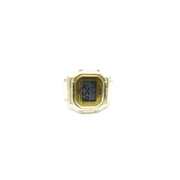 Relógio Dark Face Retro Translucido com Dourado - RLRTRD2020