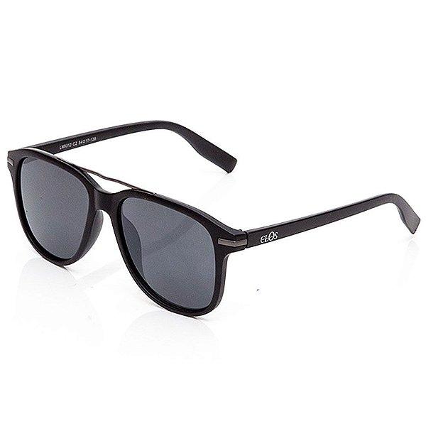 Óculos de Sol Clos Quadrado Preto